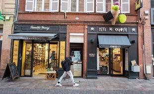 Un commerçant ouvert (image d'illustration).