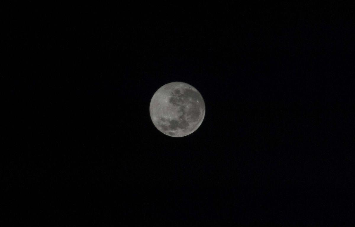 Illustration de la pleine lune. – Nasa/SIPANY/SIPA