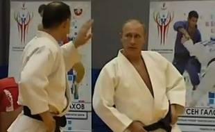 Capture d'écran du zapping «Poutine, ce cabot».