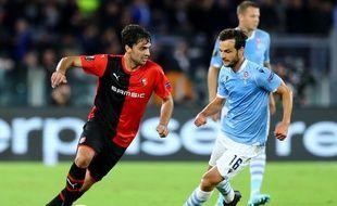 Clément Grenier et les Rennais peuvent être déçus après leur défaite face à la Lazio ce jeudi soir (2-1)