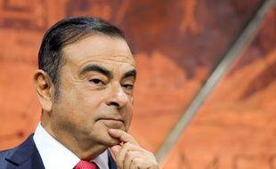 Le PDG de Renault, Carlos Ghosn