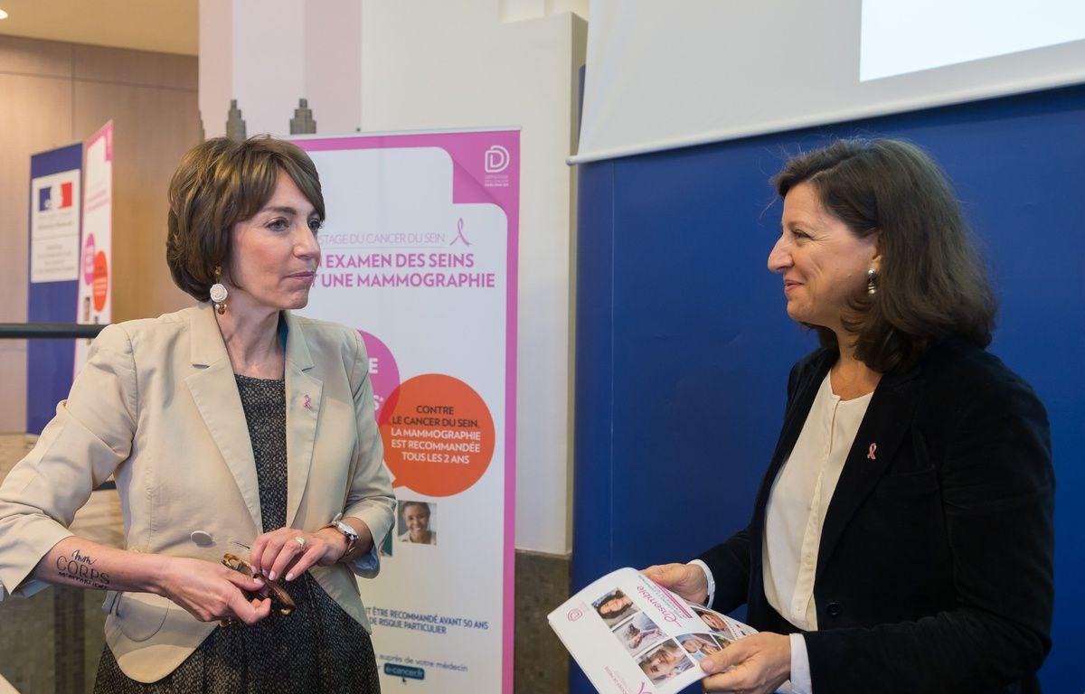 Agnès Buzyn et Marisol Touraine, ex-ministre de la Santé. – MINISTERE SANTE/SIPA