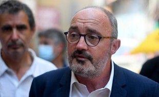 La tête de liste d'union de la gauche en Paca, Jean-Laurent Félizia.