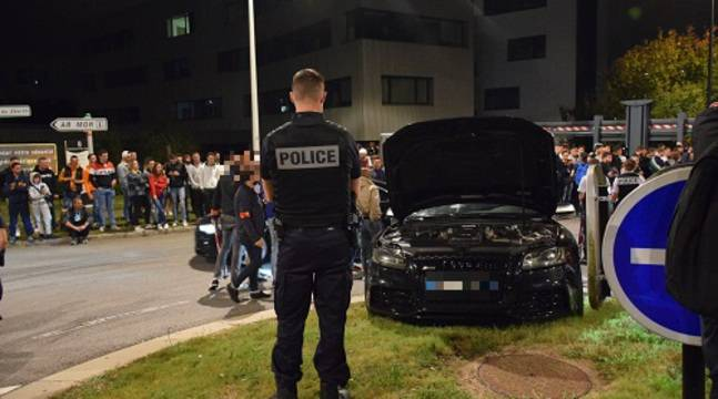 Nantes : La police intervient pour mettre fin à un run sauvage