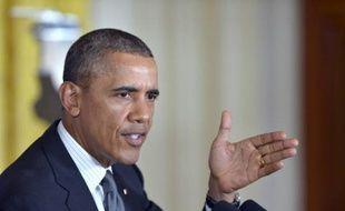 Le président américain Barack Obama à Washington, le 26février 2014.