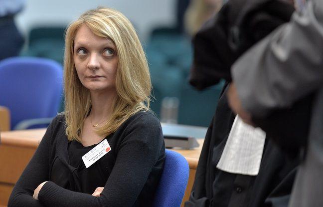 Strasbourg, le 5 juin 2015. Rachel Lambert assiste à une audience à la Cour européenne des droits de l'homme au sujet de Vincent Lambert.