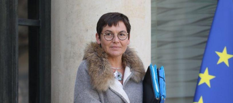Annick Girardin à l'Elysée le 21 février 2018.