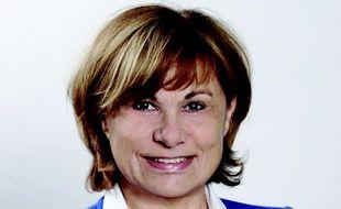 Michelle Salucki, maire de Vallauris Golfe-Juan, commune touchée par les intempéries