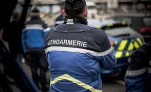 Un gendarme, lors d'une opération de sécurité routière en Seine et Marne, en décembre 2019 (photo d'illustration).