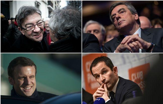 Fillon, Macron, Mélenchon, Hamon... Qu'est-ce qui se passe avec les noms de politiques en «on» ?