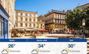 Météo Bordeaux: Prévisions du samedi 24 août 2019