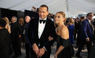 Les fiancés Alex Rodriguez et Jennifer Lopez