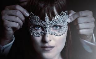 Affiche de Cinquante nuances plus sombre, sorti en février 2017.