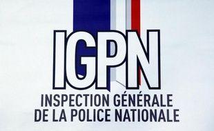 Le logo de l'Inspection générale de la police nationale (IGPN, la police des polices)