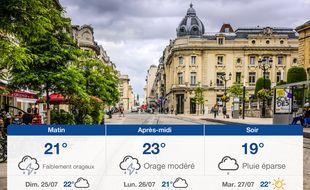 Météo Reims: Prévisions du samedi 24 juillet 2021