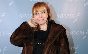 La chanteuse Rose Laurens, en 2010.