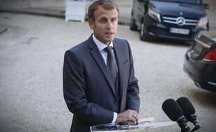 Emmanuel Macron est président de la République depuis mai 2017.