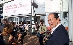 Le Premier secrétaire du Parti socialiste Jean-Christophe Cambadélis aux universités d'été du PS le 30 août 2015 à La Rochelle.