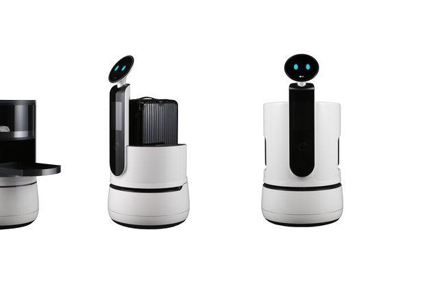 LG, prêt à lâcher son armada de robots dans les lieux publics pour aider le public.