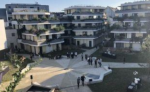 Un nouveau quartier est sorti de terre en lieu et place de l'ancienne maison d'arrêt, à Nantes