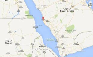 Googlemap de Jeddah