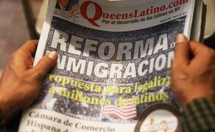 L'espagnol, que les immigrants cherchaient autrefois à escamoter, a de plus en plus pignon sur rue aux Etats-Unis, dans les rues, les campus et jusqu'au coeur du pouvoir, avec des Hispaniques de plus en plus influents dans les médias et la politique.