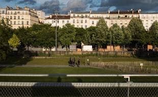Le jardin d'Eole, aujourd'hui occupé par des toxicomanes sera rendu à ses habitants, promet Anne Hidalgo
