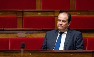 Jean-Christophe Cambadélis à l'Assemblée nationale le 16 décembre 2014.
