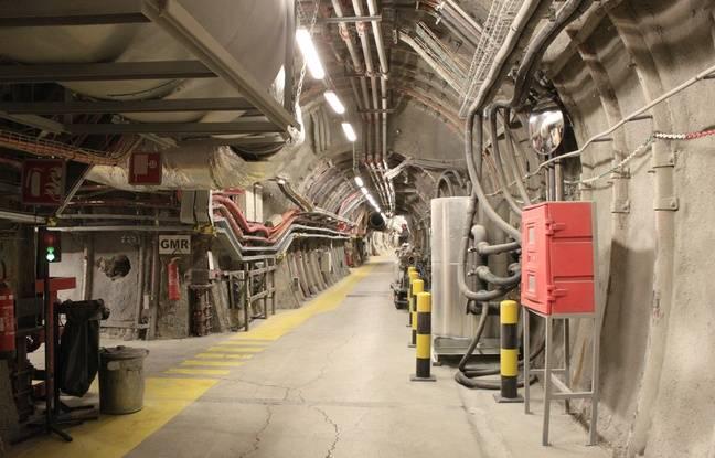 A 500 mètres sous terre, A Bure, l'Andra a déjà fait construire 1,7 kilomètre de galeries. Il s'agit d'un laboratoire destinée à tester la faisabilité du projet Cigéo.