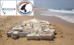 Des pains de cocaïne ont été retrouvés sur les plages du Pas-de-Calais (illustration).