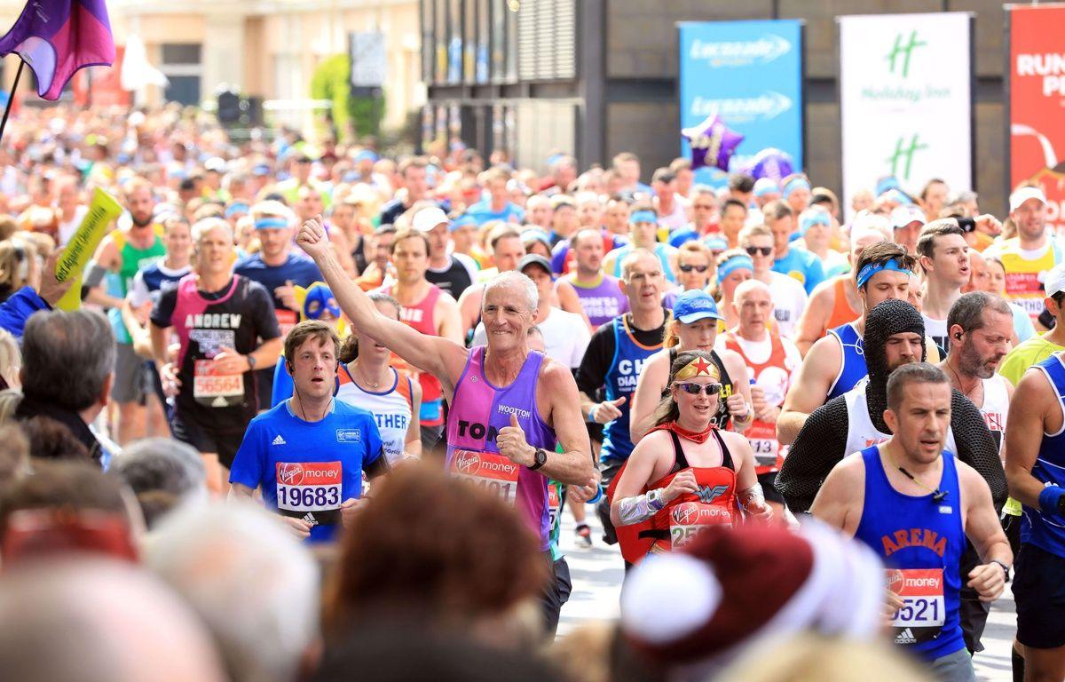 Il demande sa compagne en mariage pendant le marathon de Londres – Oliver Dixon/Shuttersto/SIPA