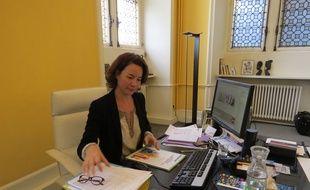 Paris, le 22 septembre 2014, Pauline Véron, adjointe à la maire chargée de la démocratie locale et la participation citoyenne