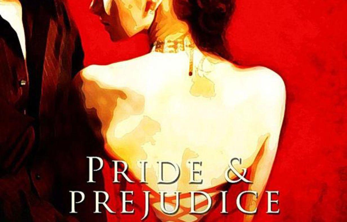 La couverture du livre «Orgueil et préjugé», revisité par la maison d'édition spécialisée dans les oeuvres érotiques, Total-E-Bound. – Total-E-Bound