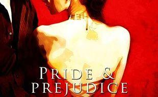 La couverture du livre «Orgueil et préjugé», revisité par la maison d'édition spécialisée dans les oeuvres érotiques, Total-E-Bound.