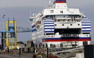 Les deux Anglais voulaient embarquer sur le ferry avec des munitions dans leur voiture.