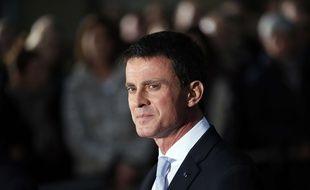 Manuel Valls après la passation de pouvoir à Matignon, le 6 décembre 2016.