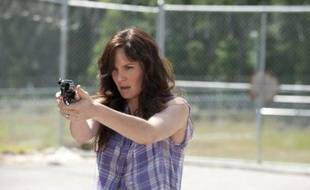 Sarah Wayne Callies, dans la série «The Walking Dead».