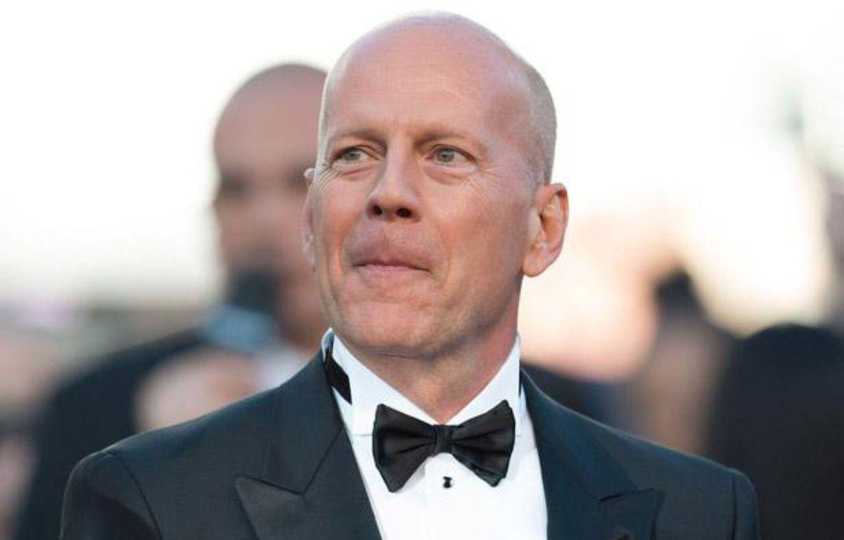 Bruce Willis au 65e Festival de Cannes, le 16 mai 2012. – NIVIERE/VILLARD/SIPA