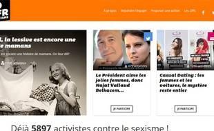 La page d'accueil du site Macholand.fr.