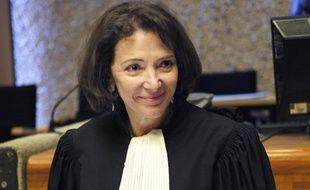 Dominique Attias, le 25 octobre 2012, avant l'ouverture en appel du procès du «Gang des Barbares».