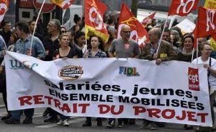 Manifestation contre la loi travail, le 26 mai 2016 à Toulouse