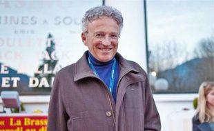 Le présentateur Nelson Monfort, à Luchon, le 11février dernier.