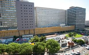 L'hôpital de la Timone (10e), à Marseille.