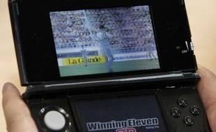 L'effet 3D de Pro Evolution Soccer, sur la Nintendo 3DS, ne peut pas être capturé par un appareil photo classique.
