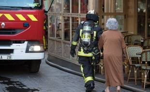 25 pompiers ont été dépêchés sur place (illustration)