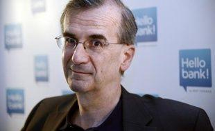 François Villeroy de Galhau à Paris, le 16 mai 2013
