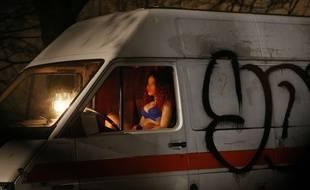 Une prostituée à Paris (photo d'illustration).