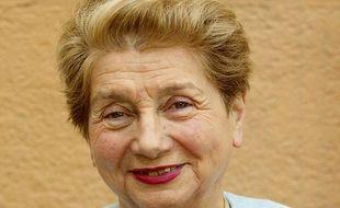 Bernardette Isaac-Sibille, ici lors des élections législatives, dans la 1ère circonscription du Rhône, en mai 2002.