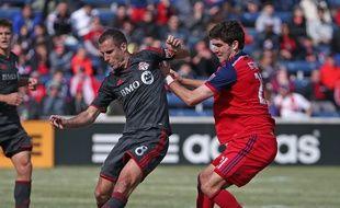 Benoît Cheyrou avec le Toronto FC.