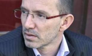 L'écrivain Laurent Mauvignier.